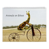 Animals on Bikes 2013 Calendar