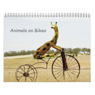 Animals on Bikes Calendar