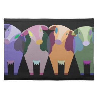 animals placemat