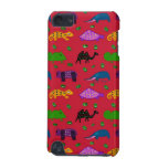 Animals - Purple Turtles & Blue Elephants iPod Touch (5th Generation) Case