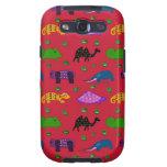 Animals - Purple Turtles & Blue Elephants Galaxy S3 Cover