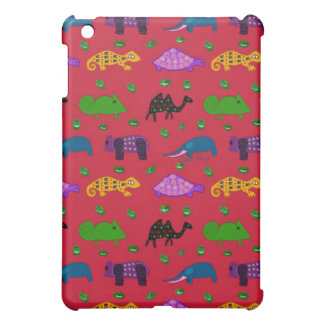 Animals - Purple Turtles & Blue Elephants Cover For The iPad Mini
