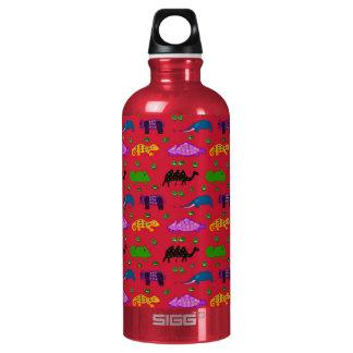 Animals - Purple Turtles & Blue Elephants SIGG Traveler 0.6L Water Bottle