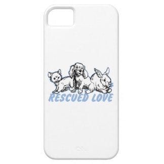 Animals Rescued Love iPhone SE/5/5s Case
