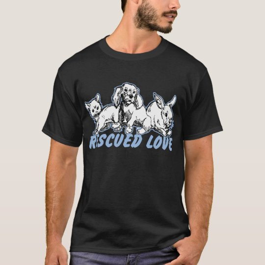 Animals Rescued Love T-Shirt