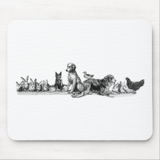 Animals Rescued Mouse Pad