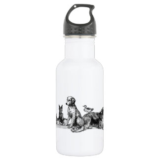 Animals Rescued Water Bottle