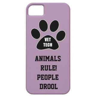 ANIMALS RULE! PEOPLE DROOL iPhone SE/5/5s CASE