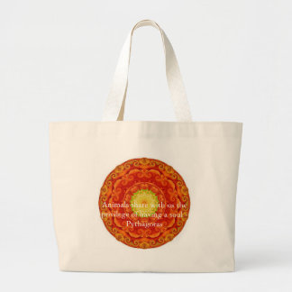 Animals share with us the privilege of having..... large tote bag