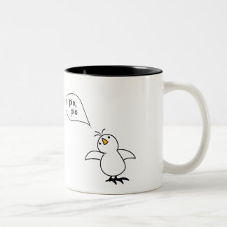 Animals Speak Spanish Too! Merchandise Two-Tone Coffee Mug