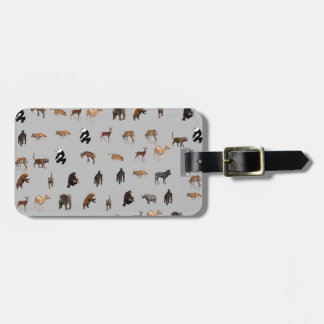 Animals Tag For Luggage