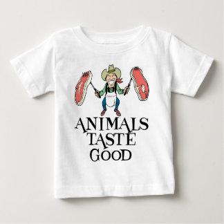 Animals Taste Good Baby T-Shirt