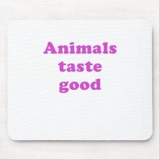 Animals Taste Good Mouse Pad