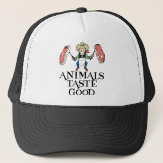 Animals Taste Good Trucker Hat
