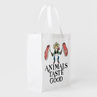 Animals Taste Good Market Tote