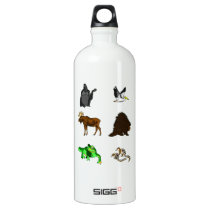 Animals Water Bottle