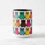 Animals Wild  Owl Birds  Happy & Colorful Nature Coffee Mugs