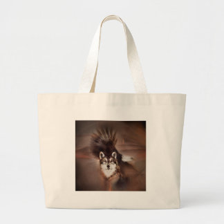 animals,wildlife nature, gifts,wolf eagle large tote bag