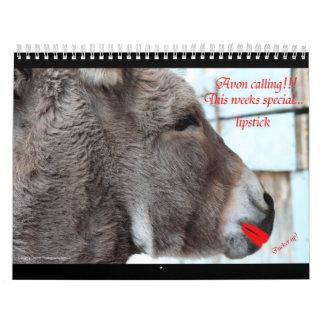 Animals with attitude calendar