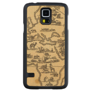 Animals World Carved® Maple Galaxy S5 Slim Case