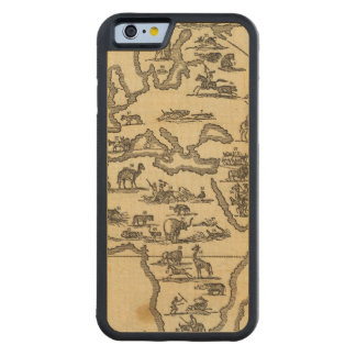 Animals World Carved® Maple iPhone 6 Bumper Case