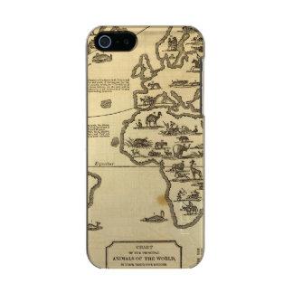 Animals World Metallic iPhone SE/5/5s Case