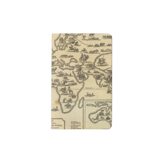 Animals World Pocket Moleskine Notebook