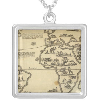 Animals World Silver Plated Necklace