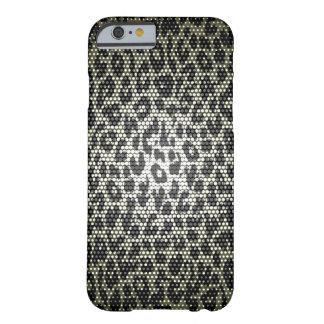 Animaltexture inconsútil negro del leopardcase