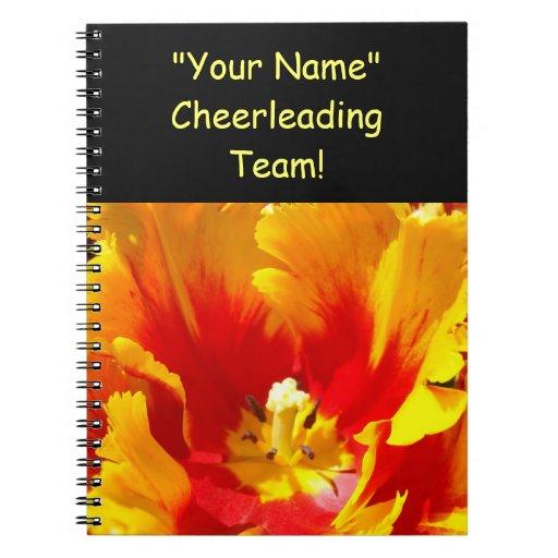 ¡Animar al equipo! regalos su tulipán conocido de  Libros De Apuntes