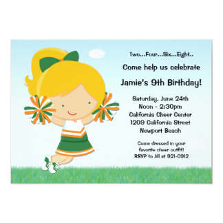 Animar la invitación de la fiesta de cumpleaños de