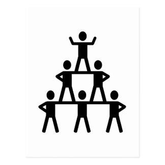 Animar la pirámide postal