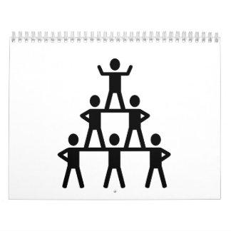 Animar la pirámide calendarios de pared