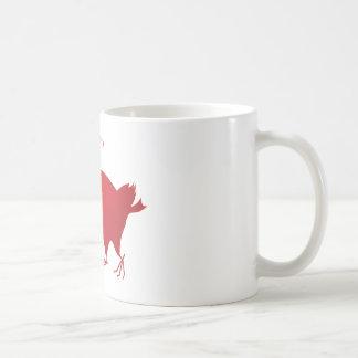 AnimArArA Hearts Venetian Red Coffee Mug