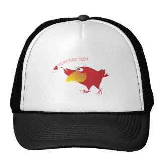AnimArArA Hearts Venetian Red Trucker Hat