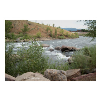 Animas River Rapids Poster