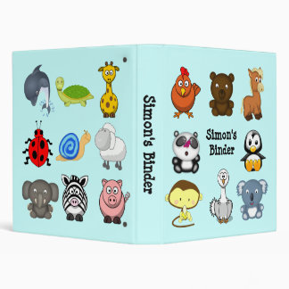 Animatastic Animal Mix Binder 1