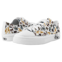 Animated Animal patterns Low-Top Sneakers