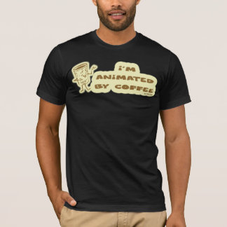 ANIMATED BY COFFEE T-Shirt