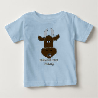 Animated Cow with Graphics Shirts