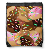 Animated donuts backpack