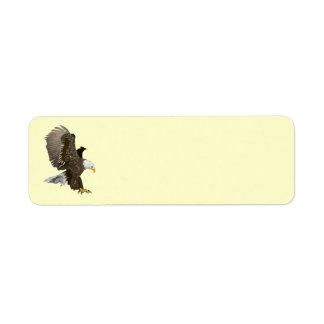 Animated Eagle Label