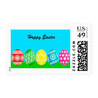 Animated Easter Eggs Stamps