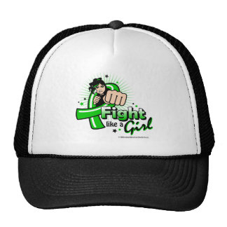 Animated Fight Like A Girl Cerebral Palsy Trucker Hat