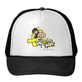 Animated Fight Like A Girl Endometriosis Trucker Hat