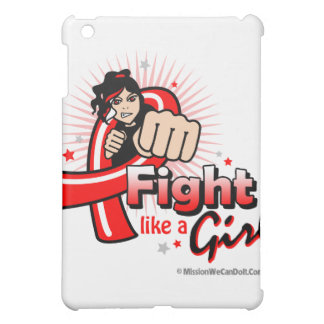 Animated Fight Like A Girl Heart Disease Cover For The iPad Mini