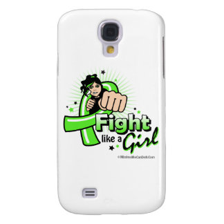 Animated Fight Like A Girl Lyme Disease Galaxy S4 Case