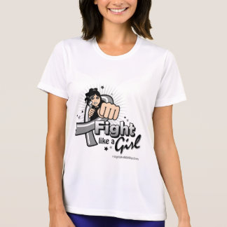 Animated Fight Like A Girl Parkinson's Disease T Shirts
