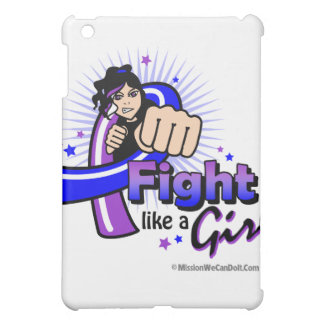 Animated Fight Like A Girl Pediatric Stroke Cover For The iPad Mini