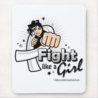 Animated Fight Like A Girl Retinoblastoma Mouse Pad